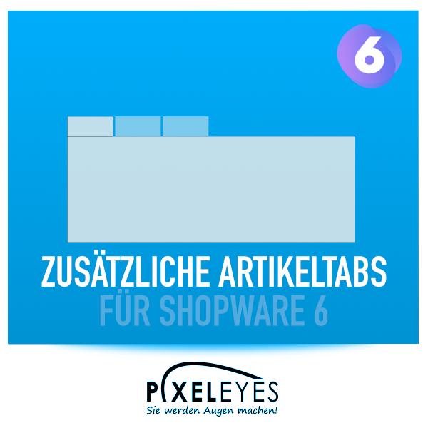 Zusätzliche Tabs für Shopware 6